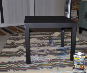 Table - Black 2013